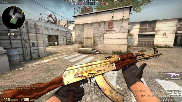 Gold CSGO